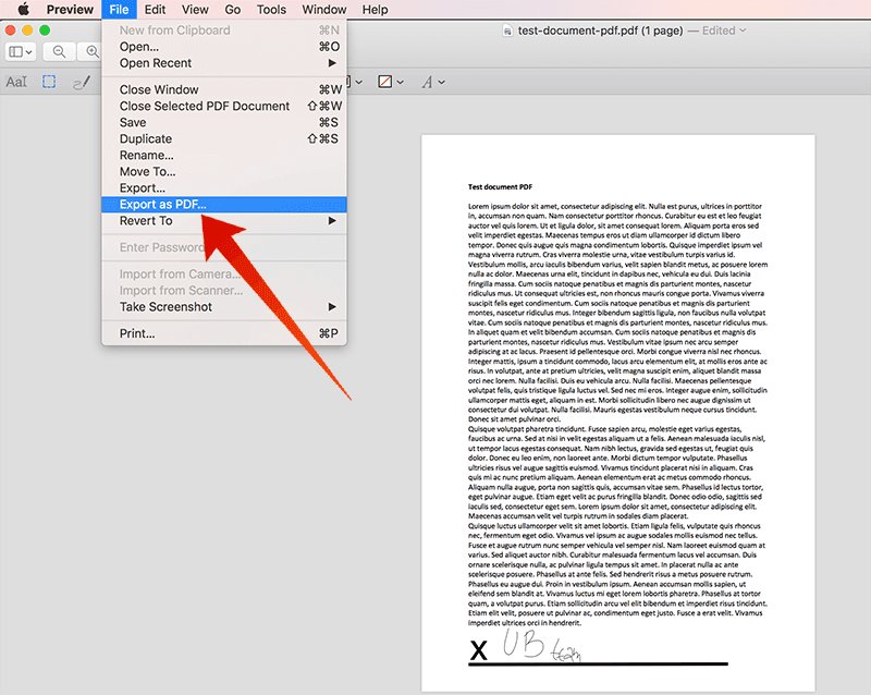 sign a pdf in preview