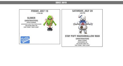 San Diego Comic Con 2019 Exclusive Ghostbusters Action Vinyls by The Loyal Subjects