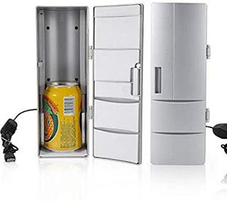 Algern Congelatore per bibite Portatile con Mini congelatore