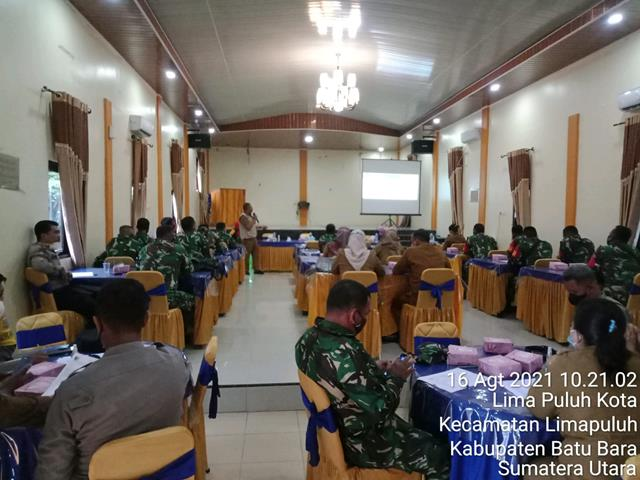 Menghadiri Rapat Peningkatan Kapasitas Petugas Pelacak/Tracer Dihadiri Personel Jajaran Kodim 0208/Asahan
