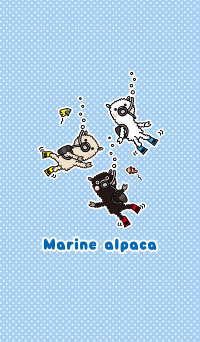 Marine alpaca