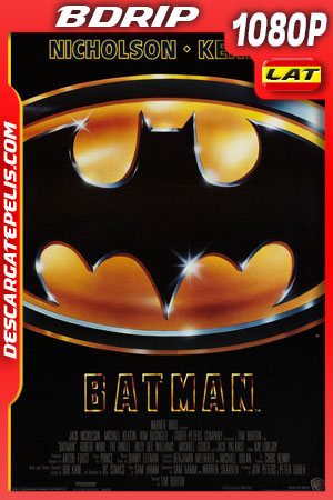Batman (1989) 1080p BDrip Latino – Ingles