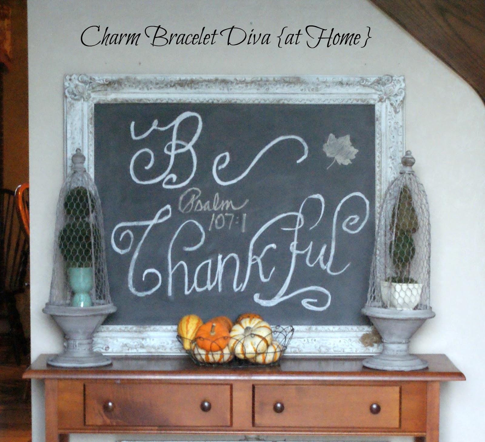 Our Hopeful Home: Some Thanksgiving Chalkboard Ideas