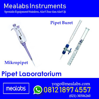 Jenis Jenis Pipet Laboratorium