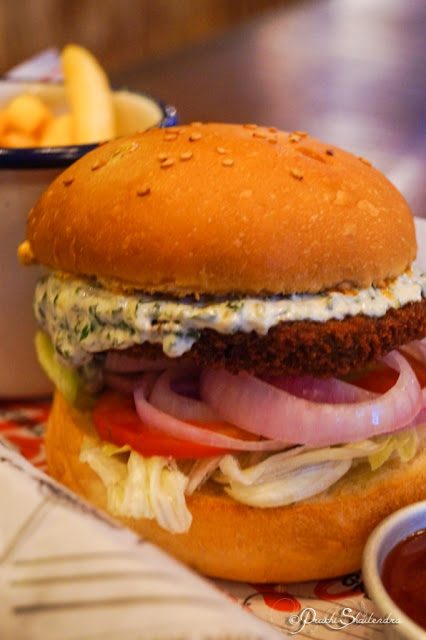 Vegetarian Gourmet Delicious Burger