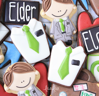 Decorated Missionary Sugar Cookies
