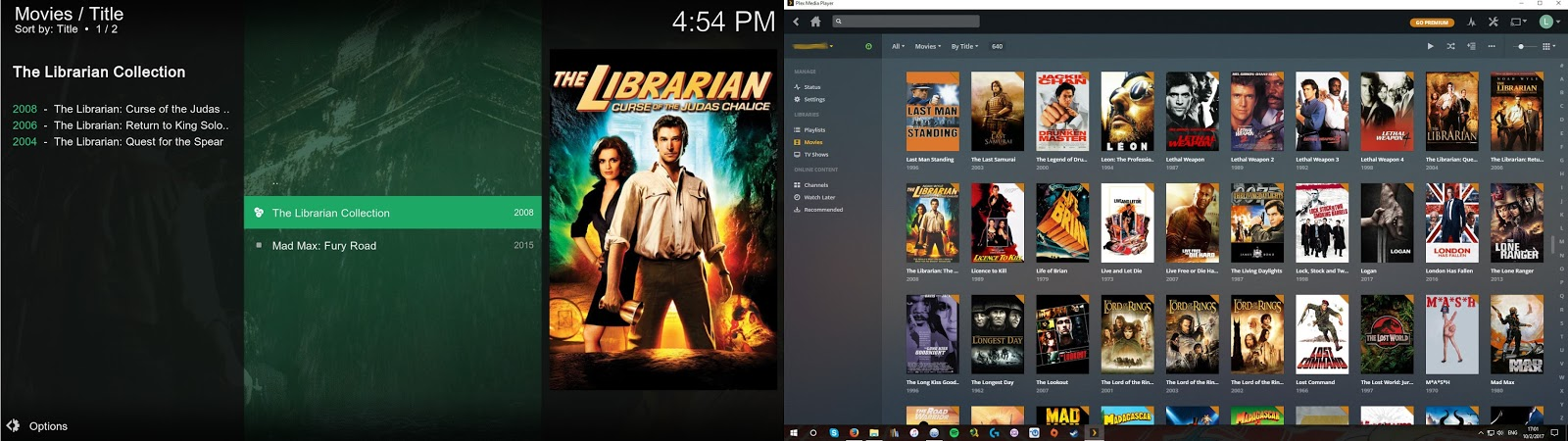 Setting up Plex to work with a Panasonic Viera HDTV and Kodi Comparisons