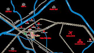 Bản đồ vị trí dự án khu đô thị thông minh Thành Đô