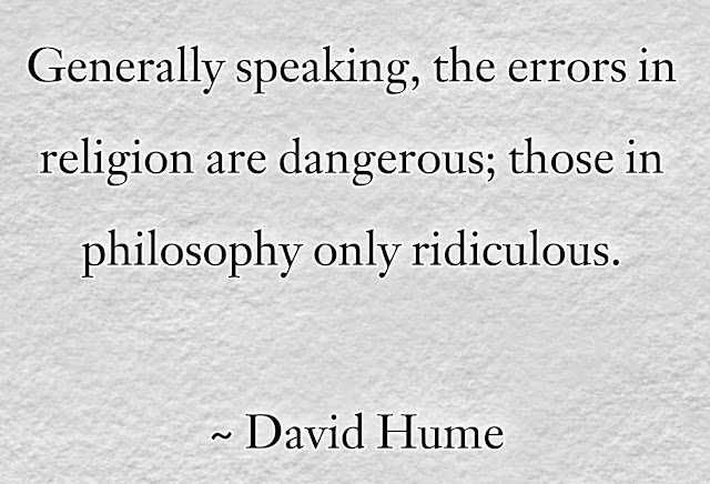 David Hume philosophy  Quotes