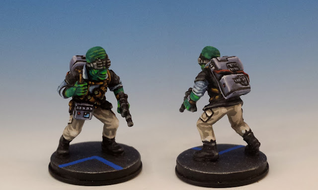 Rebel Saboteurs, Imperial Assault FFG (2014, sculpted by Benjamin Maillet)