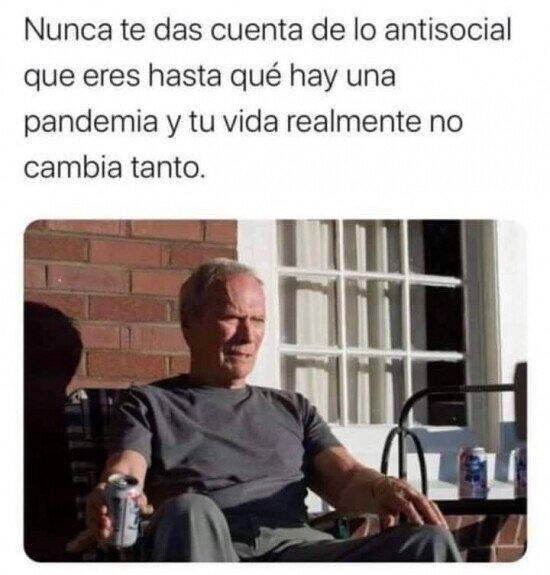 antisociales en cuarentena