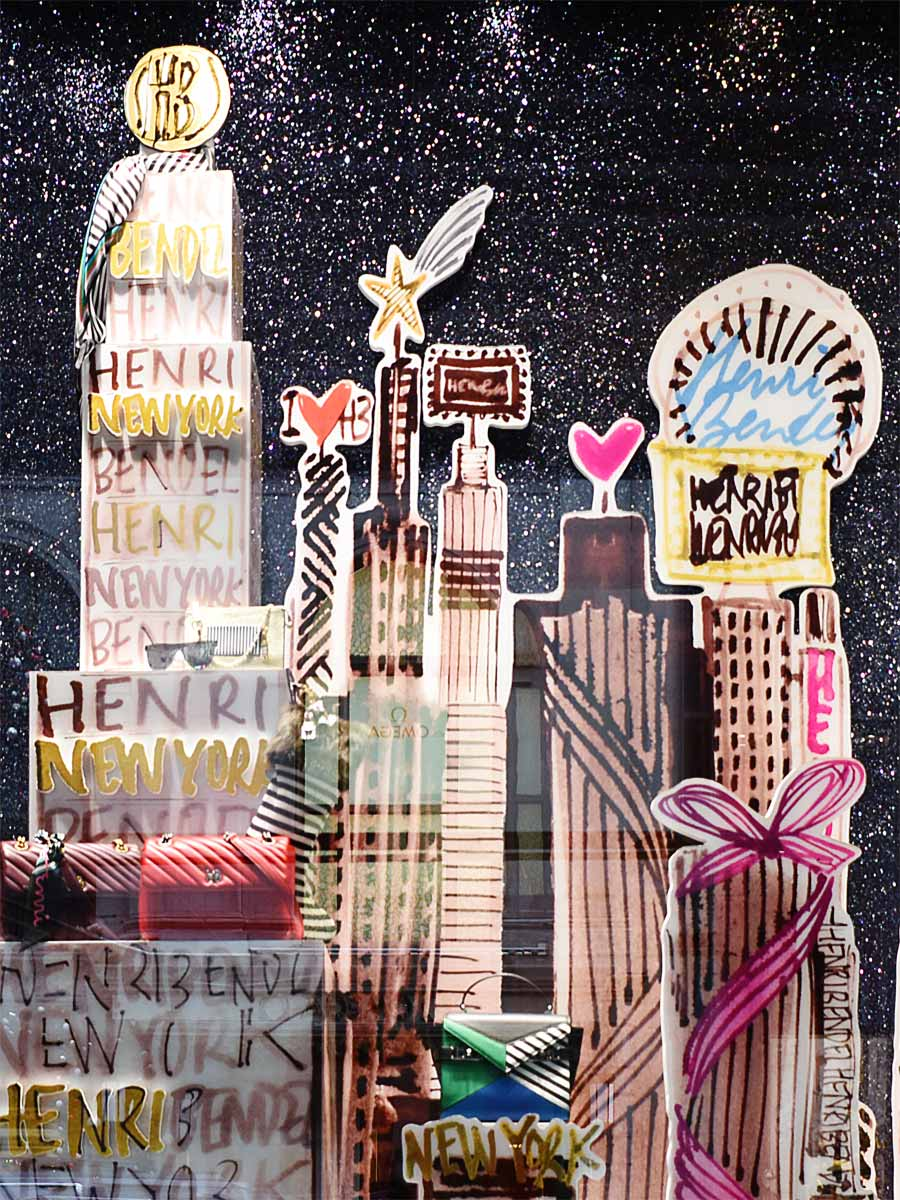 Henri Bendel Christmas Window Display 2018 New York