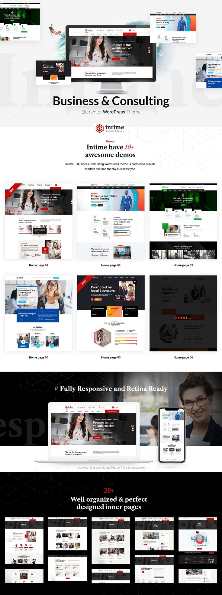 Business Consulting Multipurpose WordPress Template