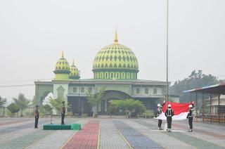 Irdam XII/Tpr Pimpin Upacara Peringatan Hari Olahraga Nasional Ke-36