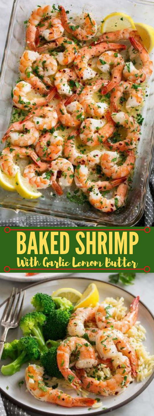 Baked Shrimp #dinner #baked #food #healthyrecipe #meals