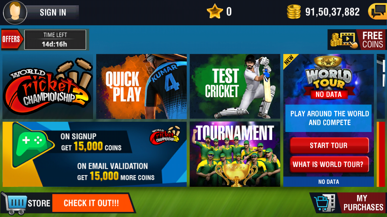 World Cricket Championship Mod Games (Everything All Level Unlock)+