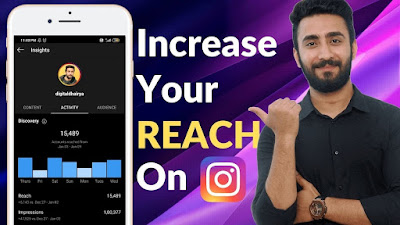 How to Increase REACH and PROFILE VISITS on Instagram FAST!
