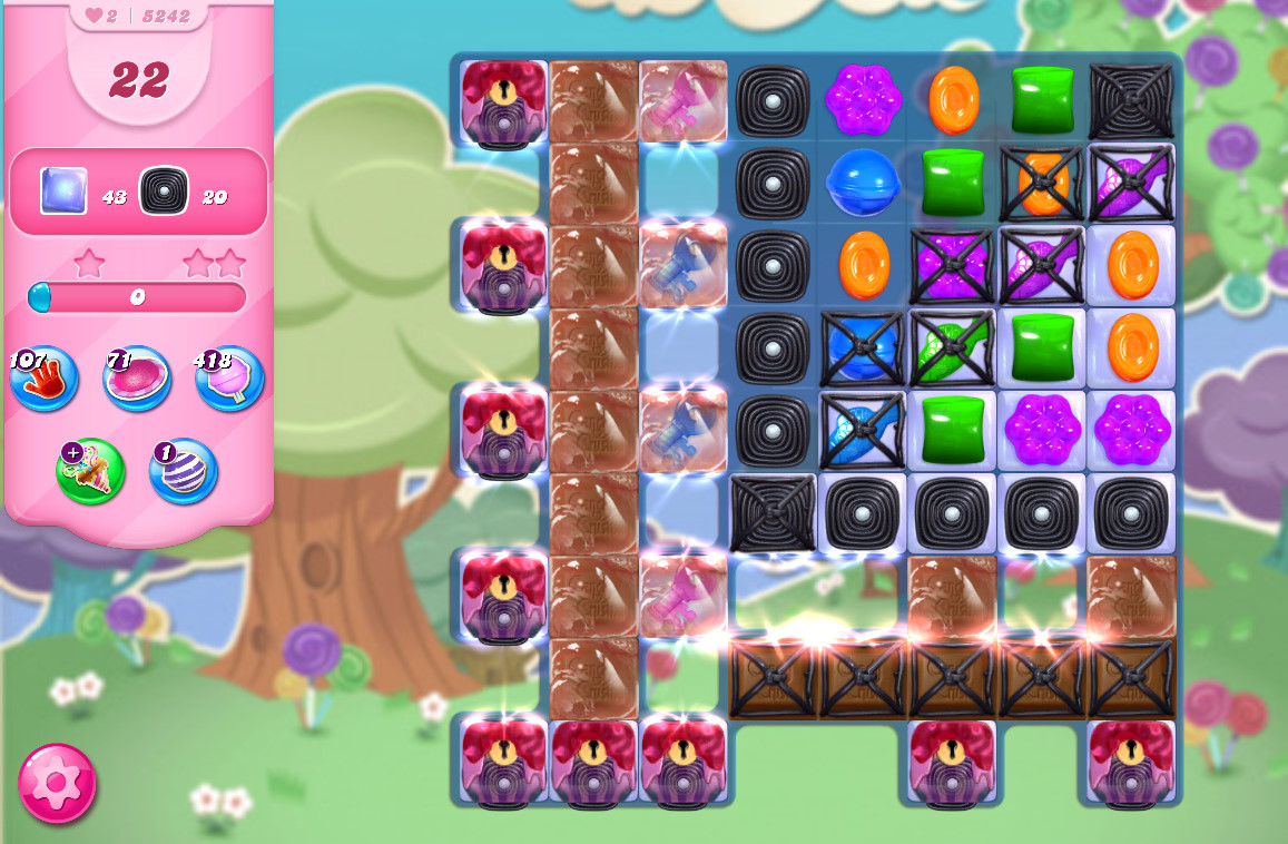 Candy Crush Saga level 5242