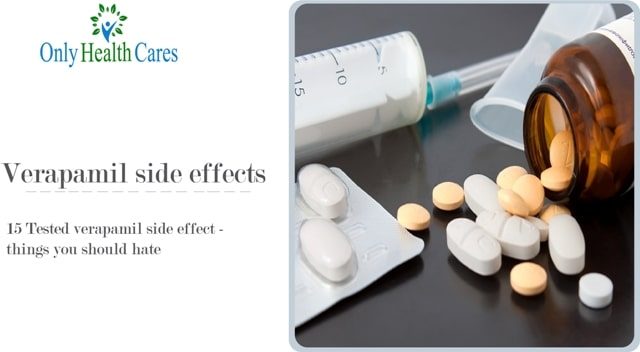 verapamil side effects