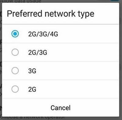 data seluler aktif tapi tidak bisa internet