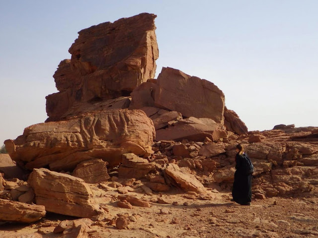 Life-sized sculptures of dromedaries found in Saudi Arabia