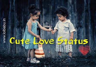 cute love status hindi