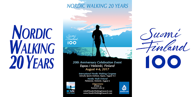 Nordic Walking 20 Years Celebration Event Suomi Finland 100