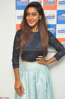 Shravya in skirt and tight top at Vana Villu Movie First Song launch at radio city 91.1 FM ~  Exclusive 165.JPG