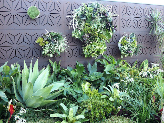 What are the characteristics of a foliage-viewing garden?