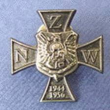 Znalezione obrazy dla zapytania krzyż Narodowe Zjednoczenie Wojskowe