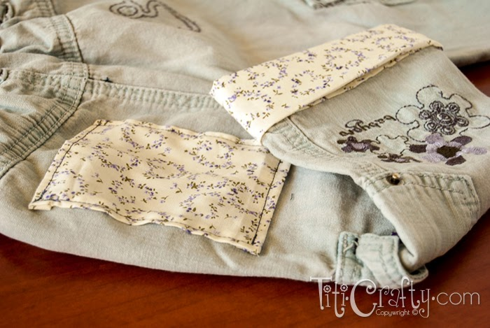 DIY Revamping Kids Pants to Extend Their Life, very easy to follow tutorial on how to add life to your growing kids pants!