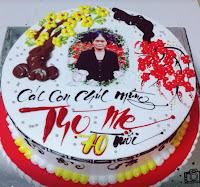 Bánh gao sinh nhật chúc mẹ nhiều tuổi