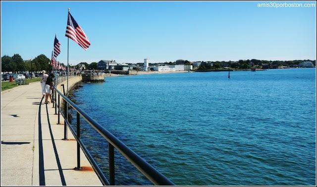 Paseo Marítimo en Gloucester, Massachusetts