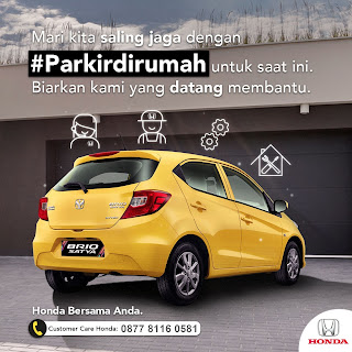 Mari kita saling jaga Dengan  #Parkirdirumah Untuk Saat ini.  Biarkan Kami yang Datang membantu