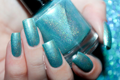 "Swatch of the nail polish ""Aisling's Secret"" from Eat Sleep Polish"