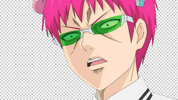 The Disastrous Life of Saiki K png transparent background
