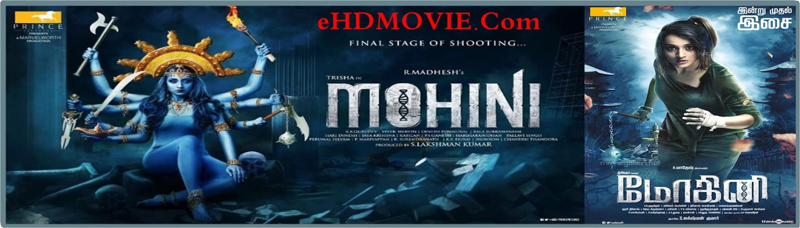 Mohini 2018 Full Movie Tamil 720p - 480p ORG HDRip 400MB - 700MB ESubs Free Download