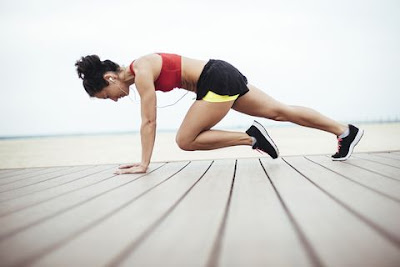 Pierde peso haciendo ejercicio