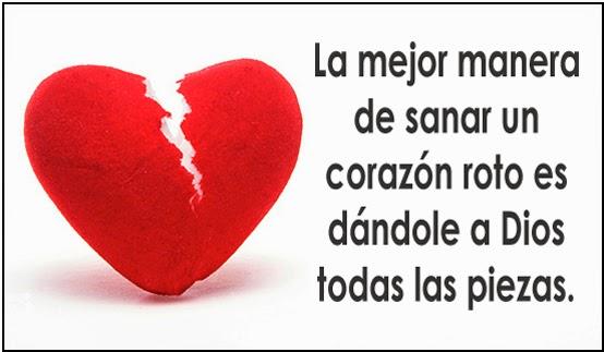 Corazon Roto Por Amor Con Frases Para FaceBook