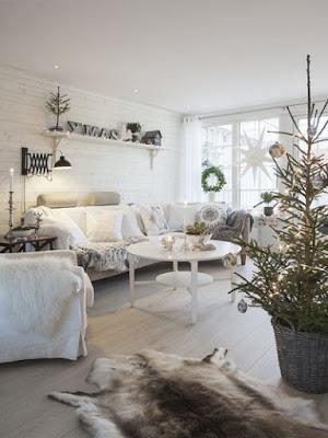 Navidad nórdica rústica