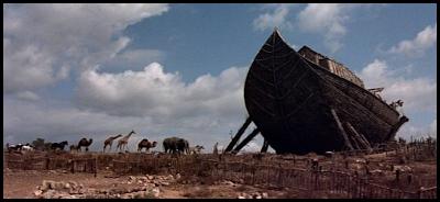 La Biblia. Película bíblica. Arca de Noé.