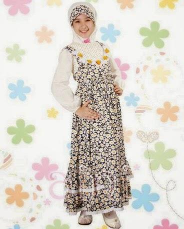 Model Busana Muslim Lebaran Anak Perempuan Terbaru