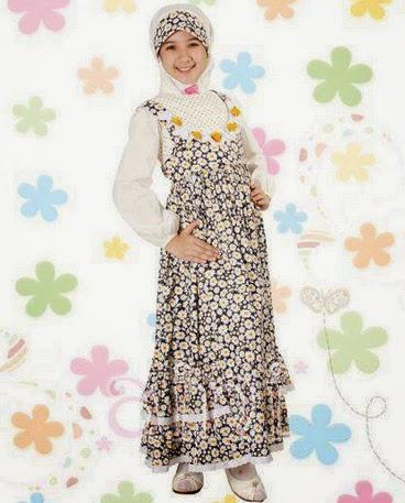 Foto Model Baju Muslim Anak 2015