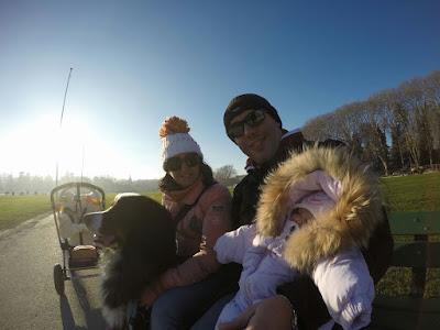 Selfie lungo il lago di annecy