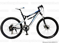 Sepeda Gunung Wimcycle Boxer 3.1 Full Suspension 27 Speed Shimano Acera 26 Inci