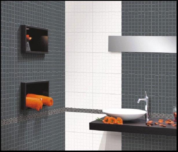 Grey Bathroom Wall Tiles