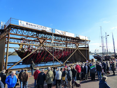 Medieval ship raised from Dutch riverbed