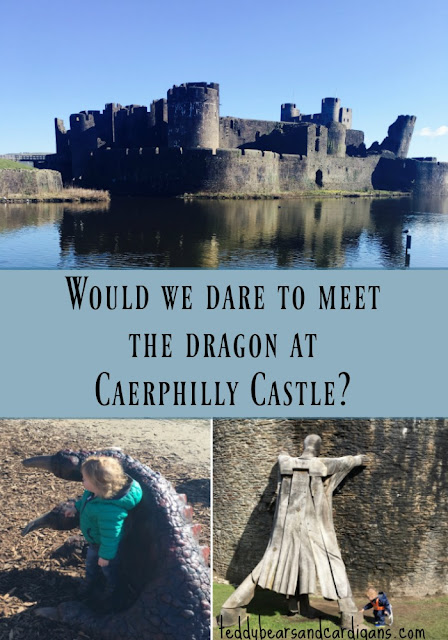 would-we-dare-to-meet-the-dragon-at-Caerphilly-castle-text-and-image-of-castle-dragon-giant