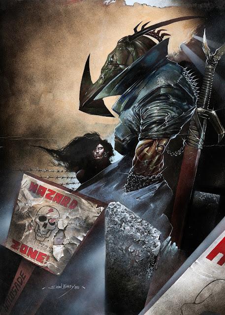 Nemesis the Warlock by Simon Bisley