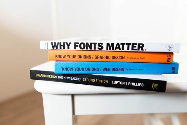 buku pendukung kuliah jurusan desain grafis